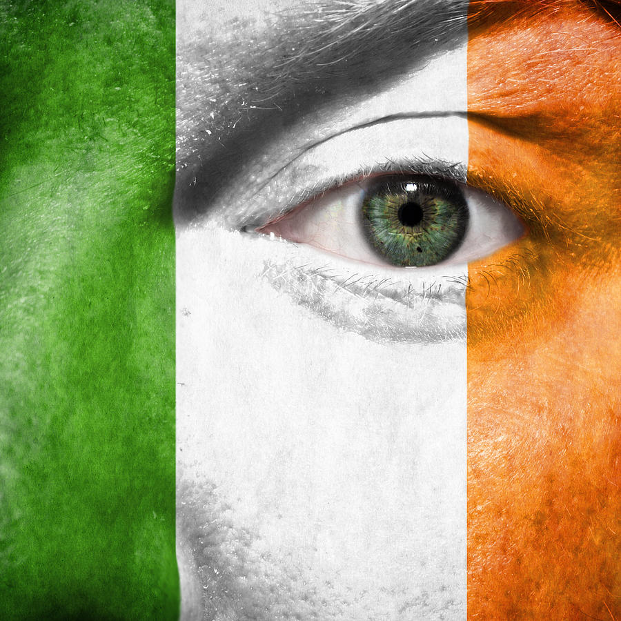 2012 Photograph - Go Ireland by Semmick Photo