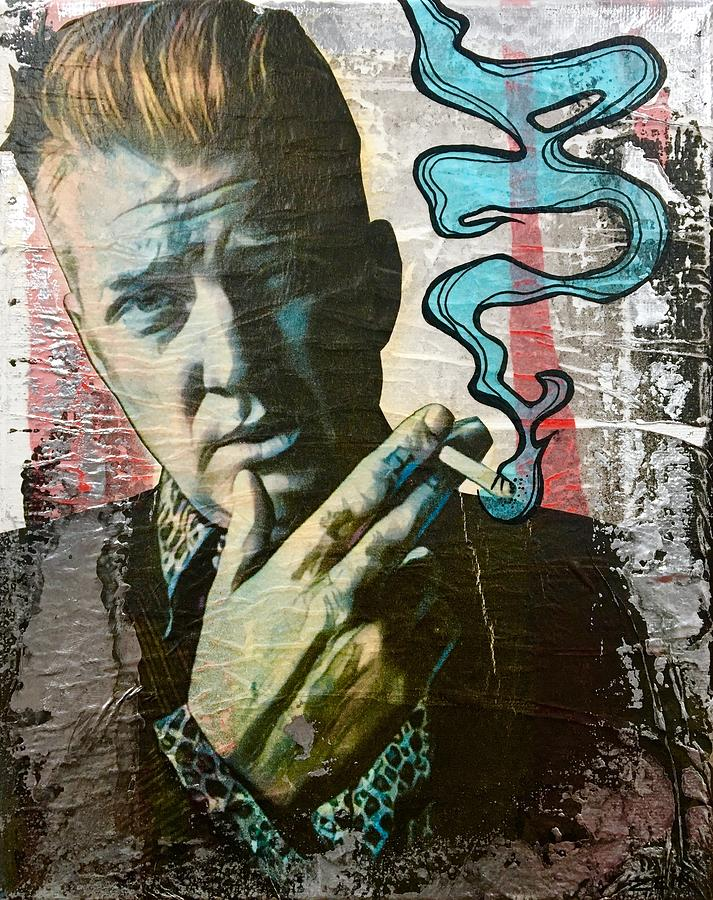 Josh Homme Painting - Go With The Flow by Bobby Zeik