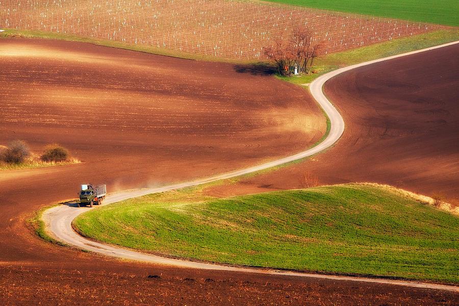 Landscape Photograph - Go Work! by Fproject - Przemyslaw Kruk