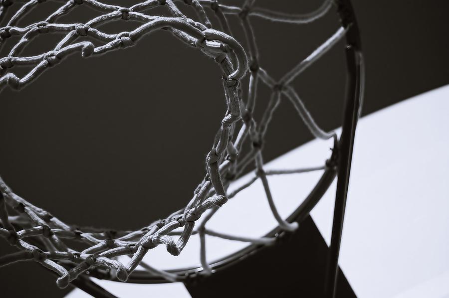 Basketball Photograph - Goal by Steven Milner
