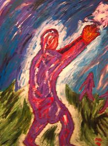Goalllllllll Painting by Ira Stark