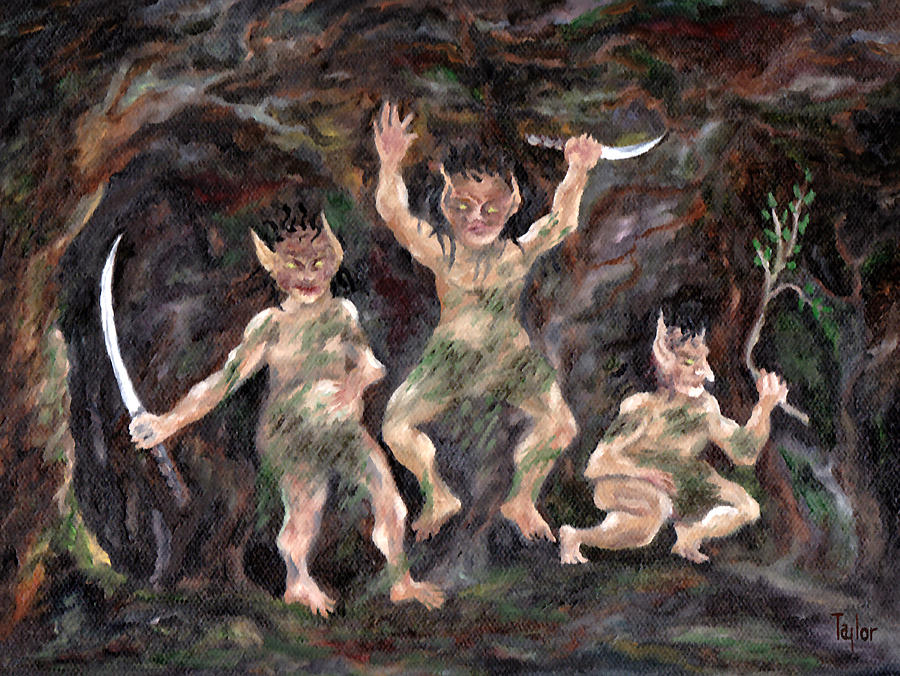 Goblins of Wyrvith Forest by FT McKinstry