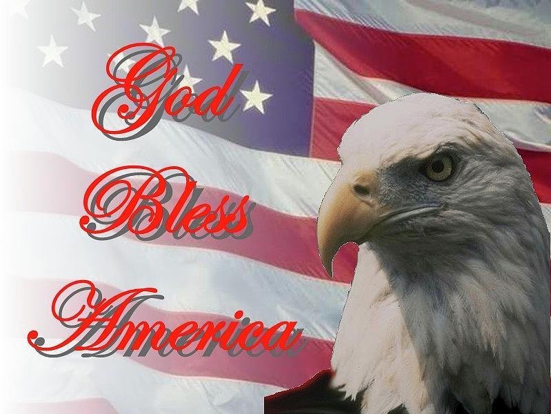 God Bless America by Jerry Battle