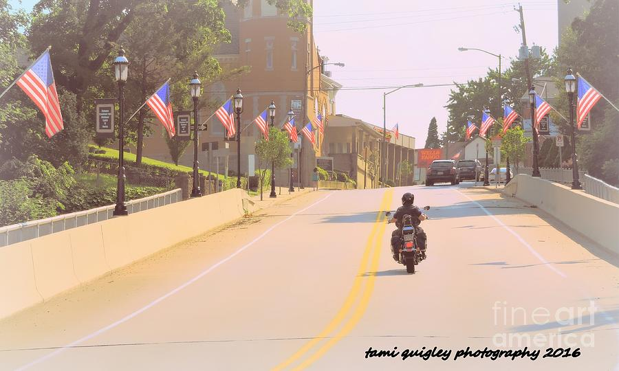 God Photograph - God Bless America by Tami Quigley