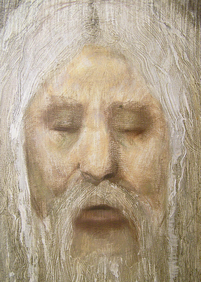 Realism Painting - God Detail by Derek Van Derven