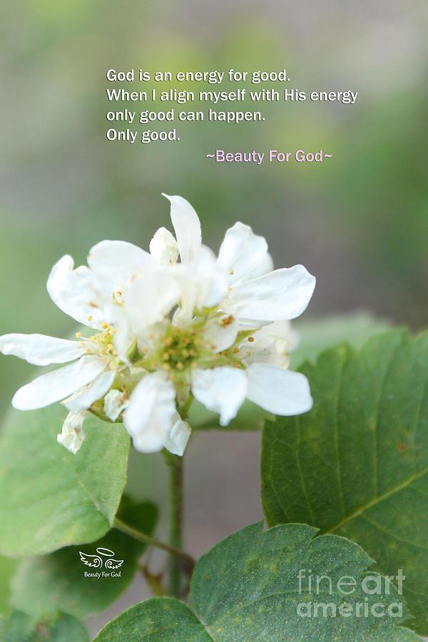 God Photograph - God is an Energy by Beauty For God