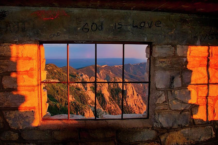 Nature Photograph - God is Love by Zayne Diamond Photographic