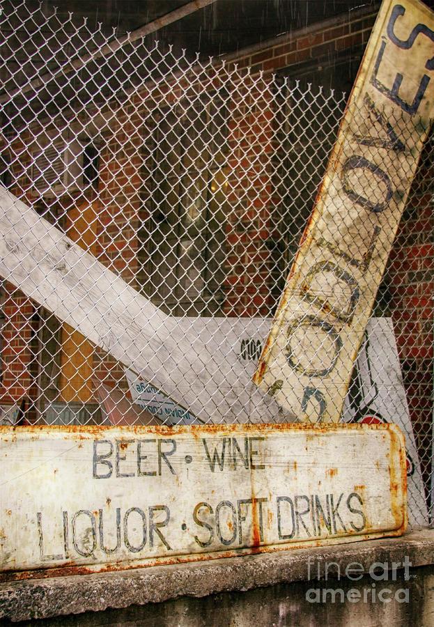 Sign Photograph - God Loves Beer  by Steven Digman
