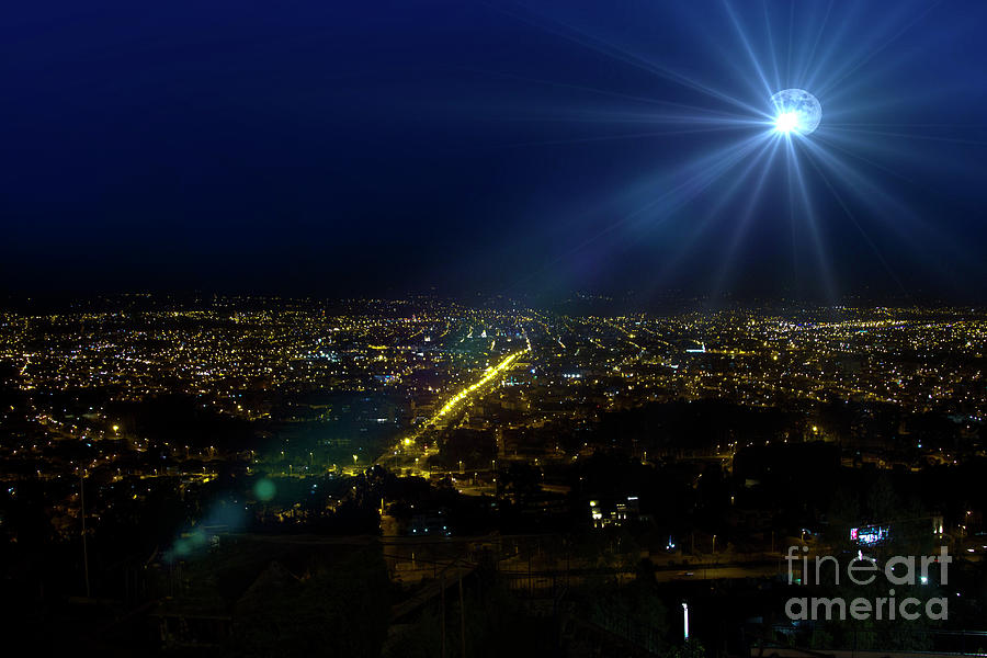 God Photograph - God Loves Cuenca by Al Bourassa