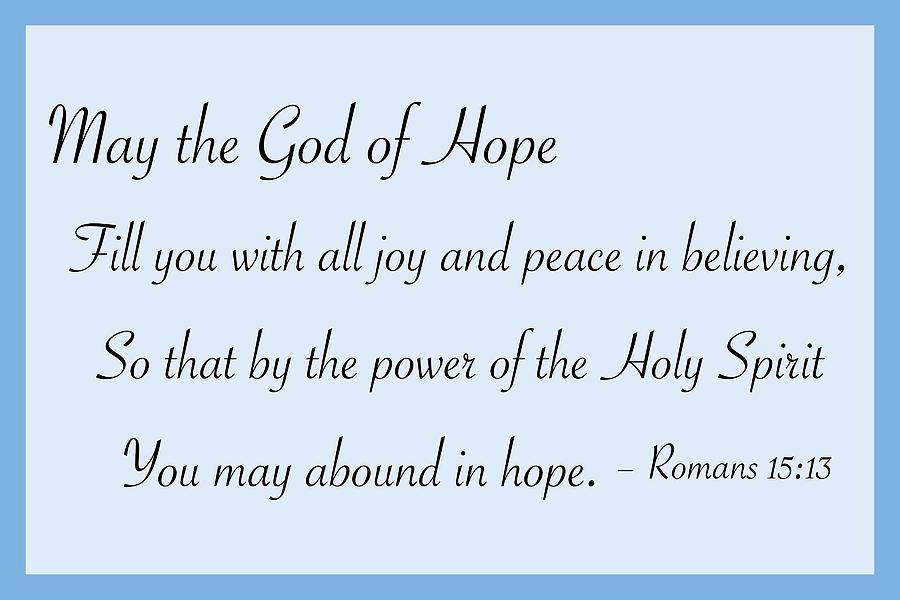 God Of Hope Drawing