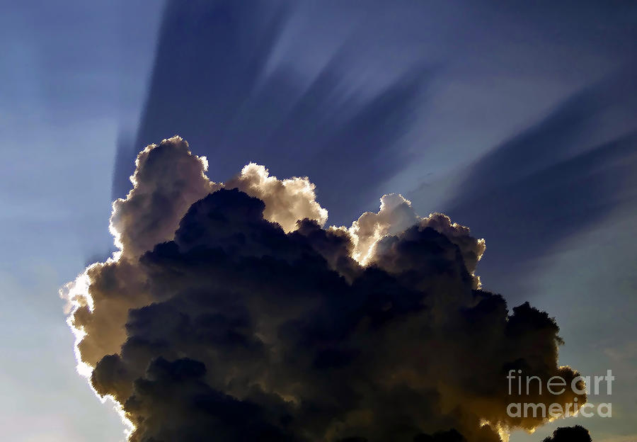 God Painting - God Speaking by David Lee Thompson