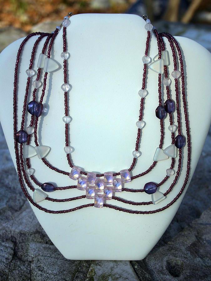 Purple Jewelry - Goddess Goodie by Shawna Dockery