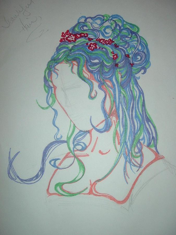 Goddess Drawing by Hannah  Kallman