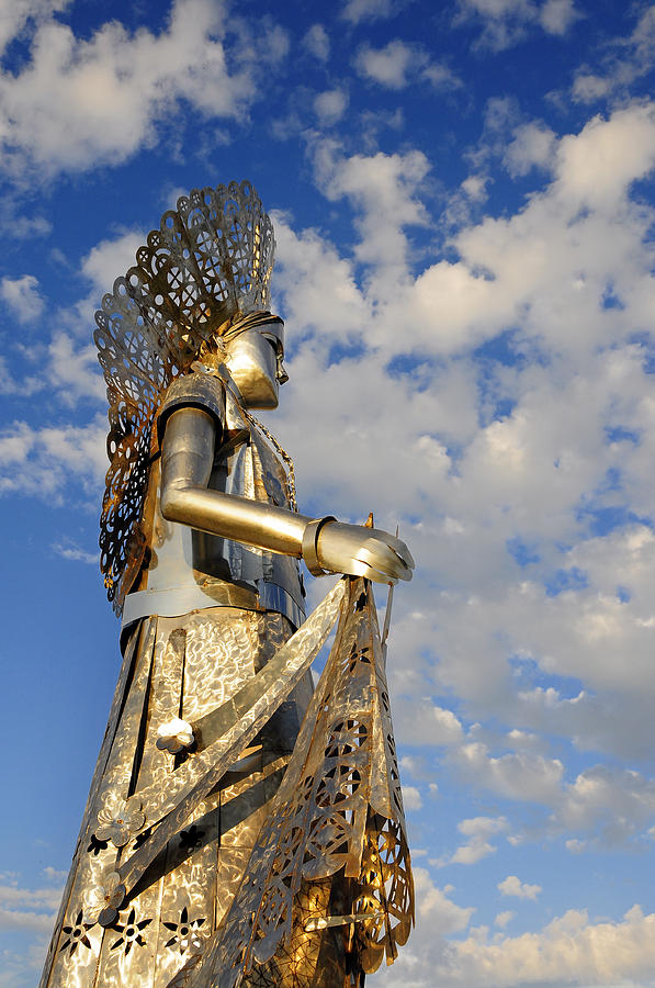 Metal Photograph - Goddess Isthmus by Skip Hunt