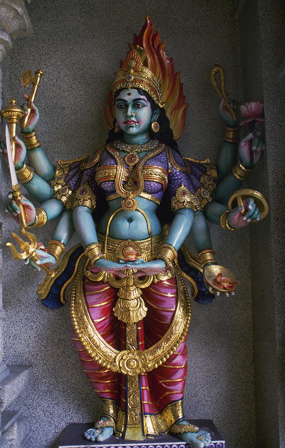Holy Photograph - Goddess Lakshmi by Carl Purcell