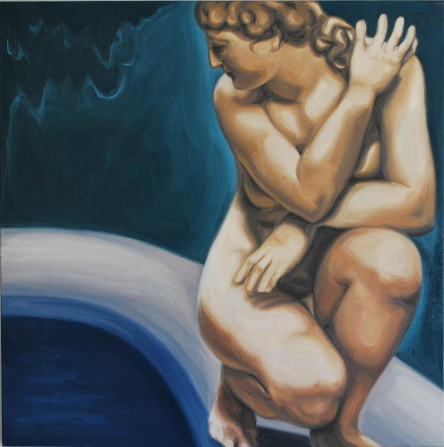Goddess Of Love Painting by Varvara Stylidou