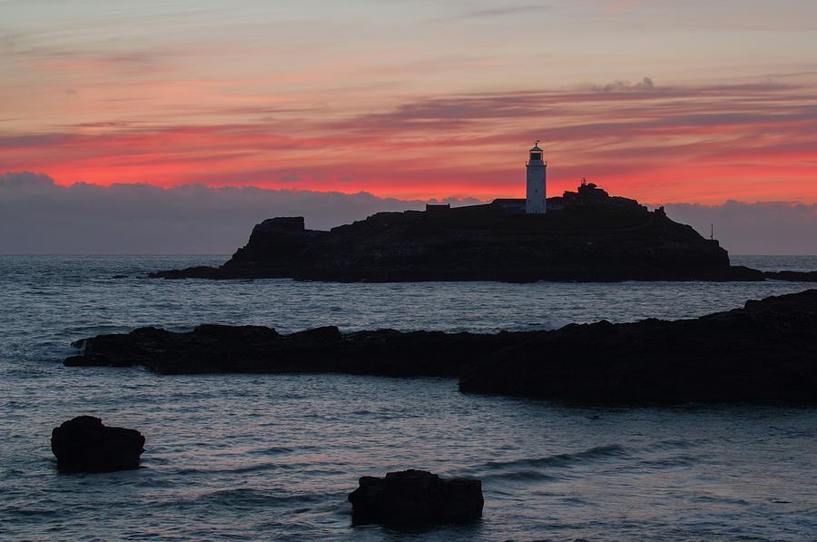 Godrevy Lighthouse by Pete Hemington