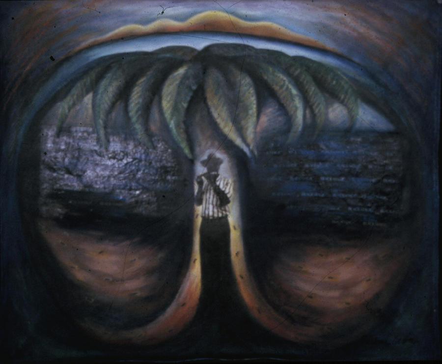 Myth Painting - Gods Ants Creation Myth by Barbara Nesin