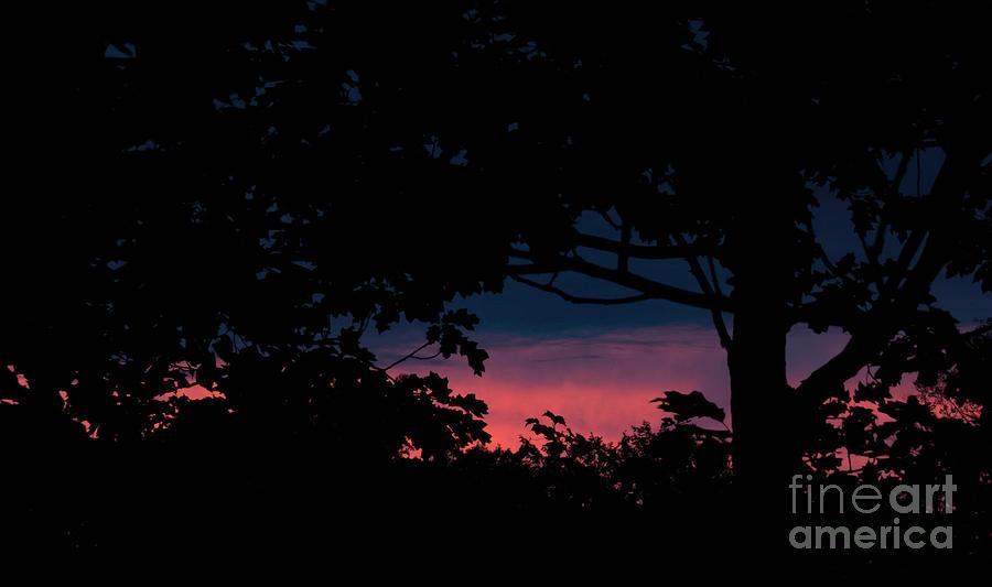 Gods Bedtime Story Sunset Photograph