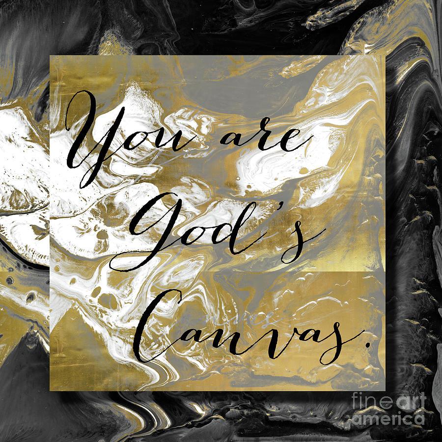 Gods Canvas I Painting