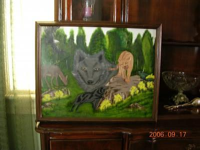 Gods Creatures Painting by Florence Hazen