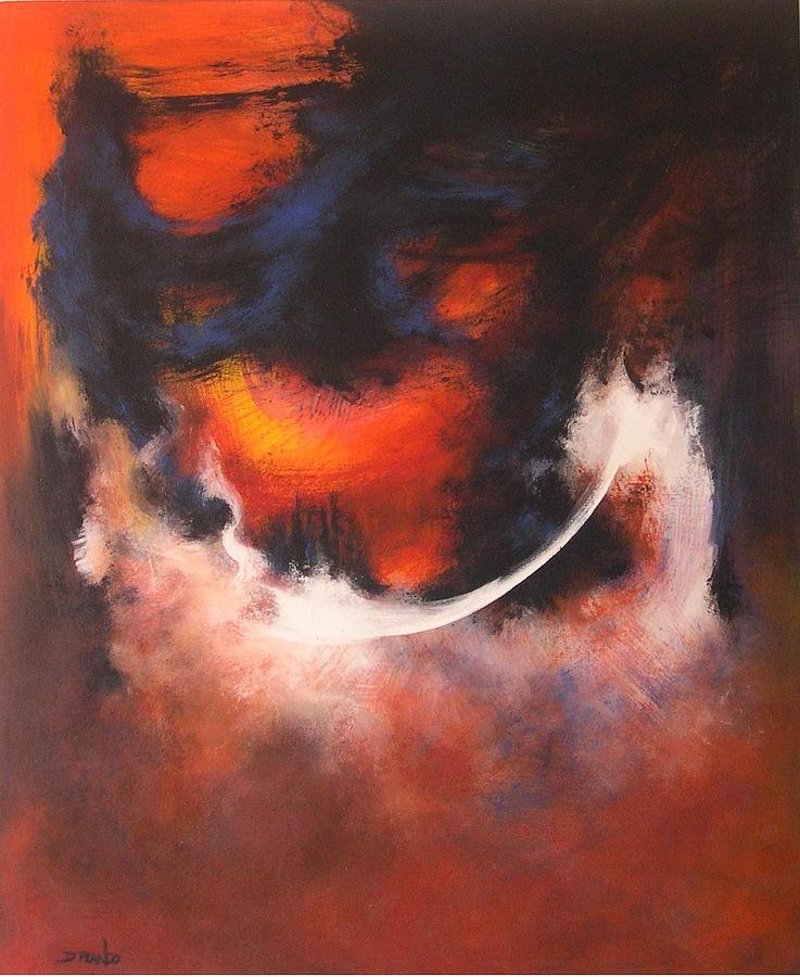 Abstract Painting - Gods Eye by DEVARAJ DanielFranco