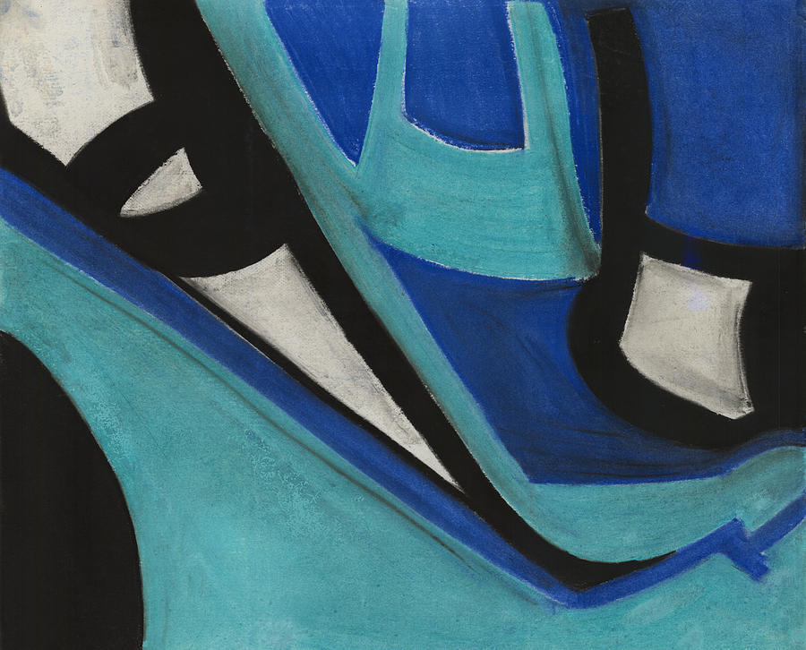 Abstract Pastel - Gods Eye Dyptych 1 by Diallo House