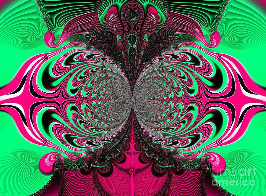 Gods Eyes Fractal 115 Digital Art