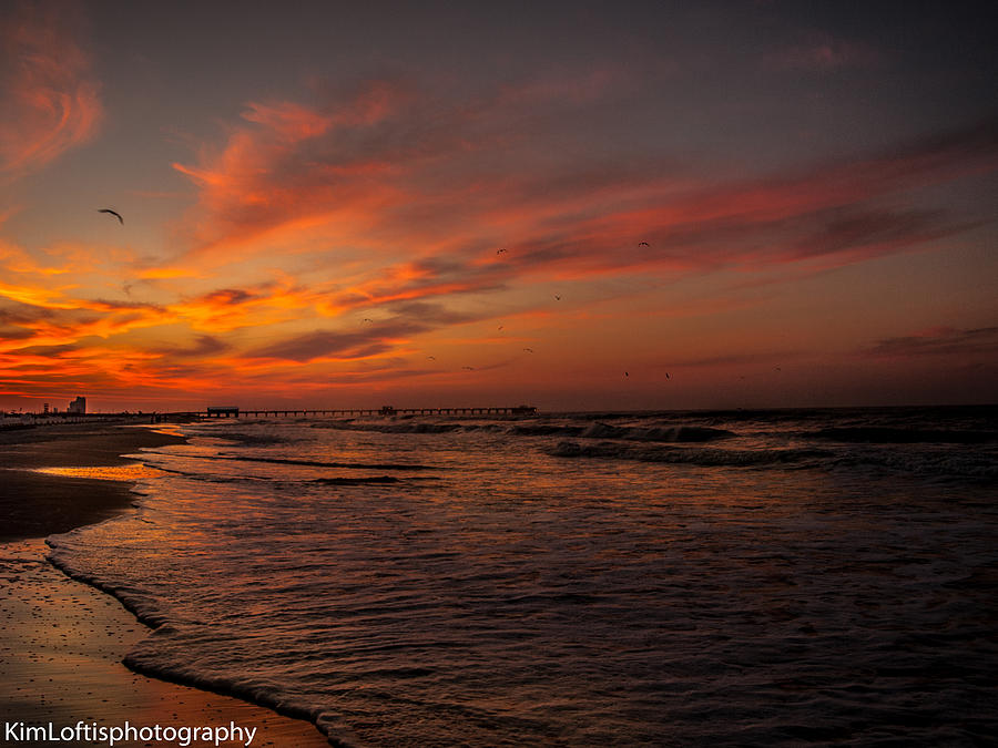 Sea Photograph - Gods Glory  by Kim Loftis
