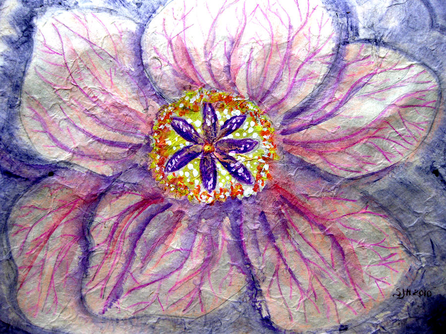 God 39 S Mercy In Each Flower Painting By Sarah Hornsby