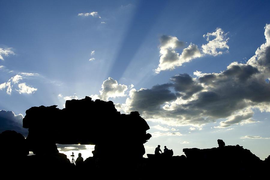 Madagascar Photograph - Gods Rays At La Fenetre by Michele Burgess