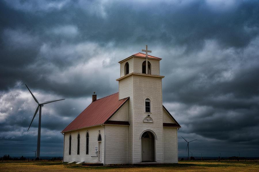 Gods Storm Photograph