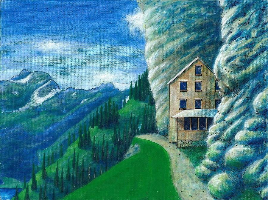 Landscape Painting - Going Home by Dave Herrling
