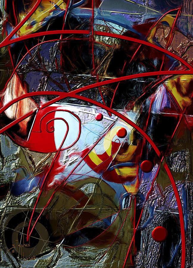 Digital Digital Art - Going Inward by Stephen Lucas