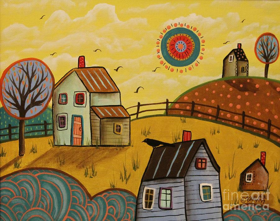 Landscape Painting - Going North by Karla Gerard