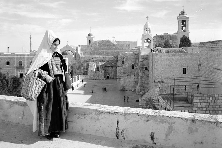 Bethlehem Photograph - Going To The Market by Munir Alawi