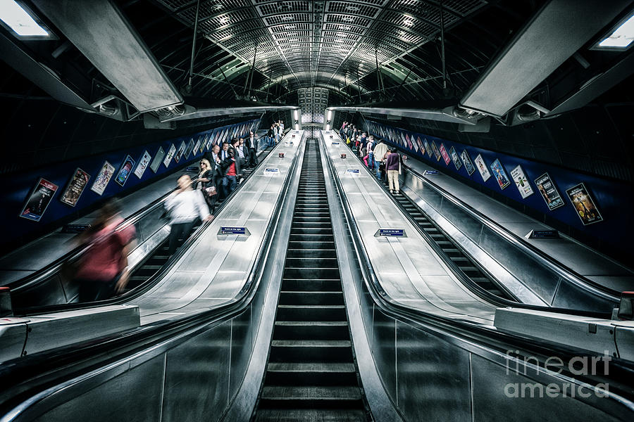 Kremsdorf Photograph - Going Underground by Evelina Kremsdorf