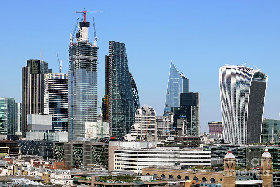 Going Up in the City of London by Julia Gavin