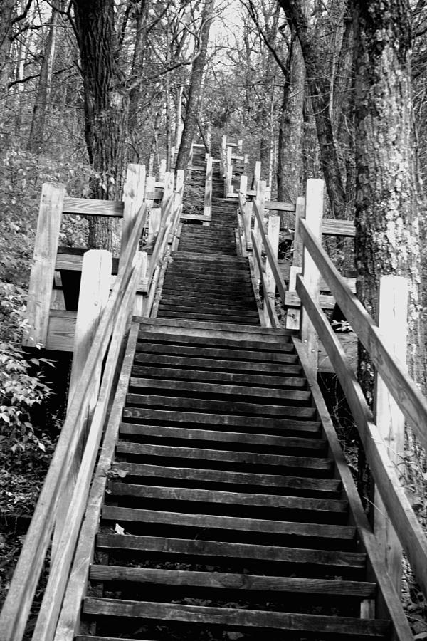 Stairs Photograph - Going Up by Jamie Lynn