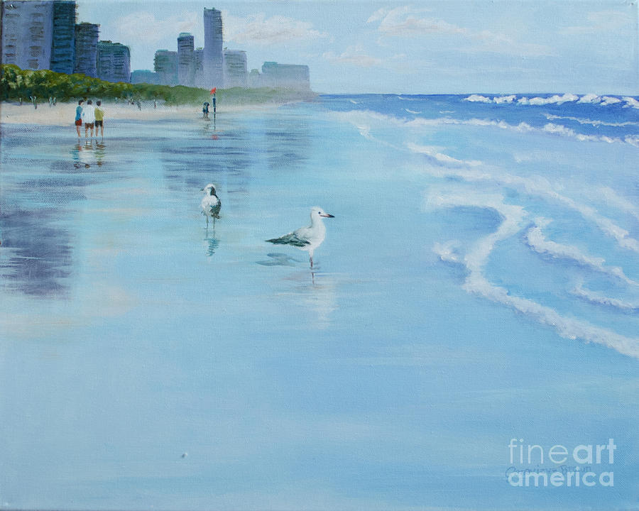 Gold Coast Australia, by Genevieve Brown