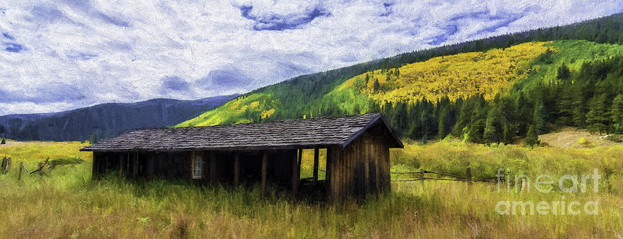 Barn Photograph - Gold Country  by Bitter Buffalo Photography