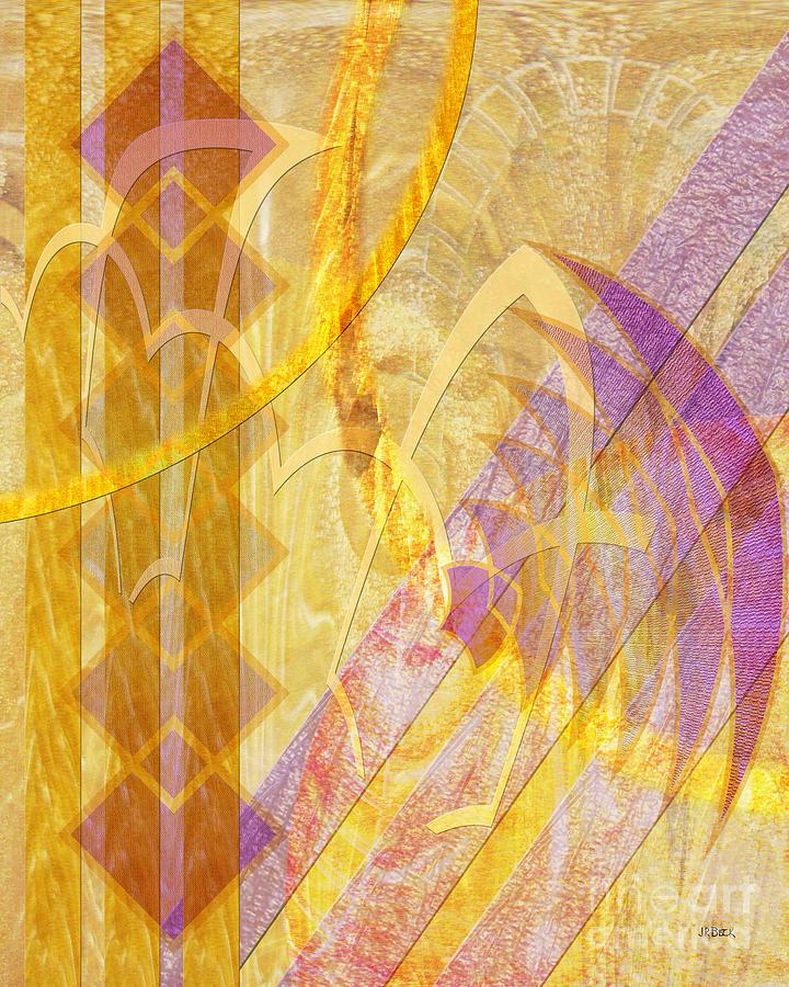 Gold Digital Art - Gold Fusion by John Beck