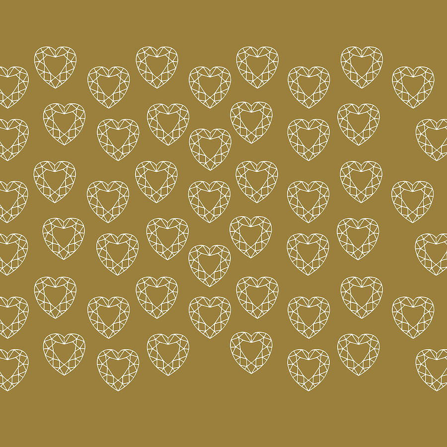 Gold On Diamonds Photograph