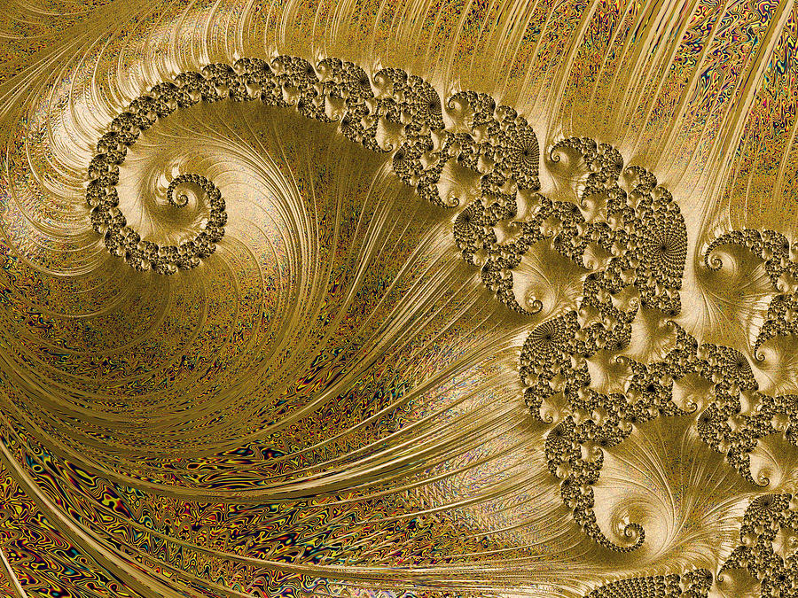 Gold Wave by Constance Sanders