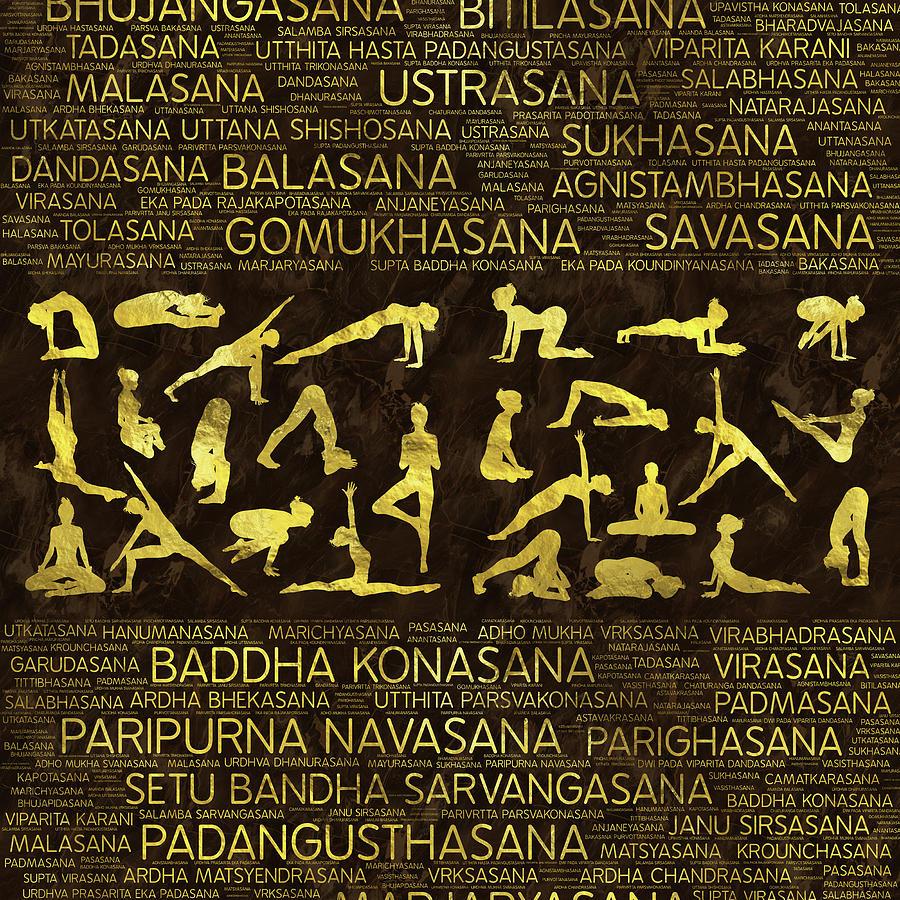 Sanskrit Word For Yoga Asanas