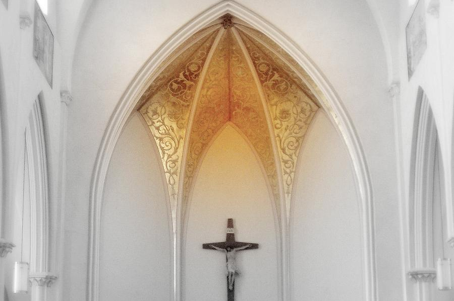 Golden Altar.. Photograph by Al  Swasey