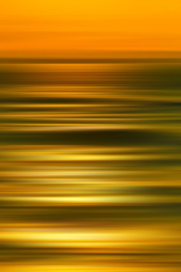 Golden Aqua Bumps Photograph