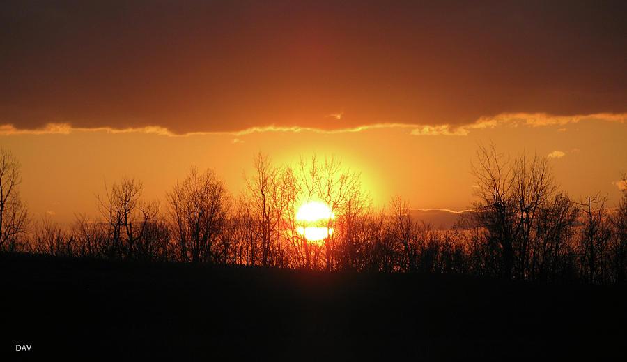 Golden Arch Sunset Photograph