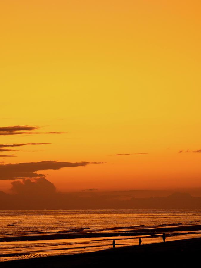 Golden Beach Sunset by Steven Myers
