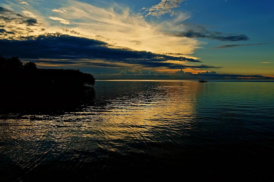 Sunset Photograph - Golden Bliss by Christin Walton